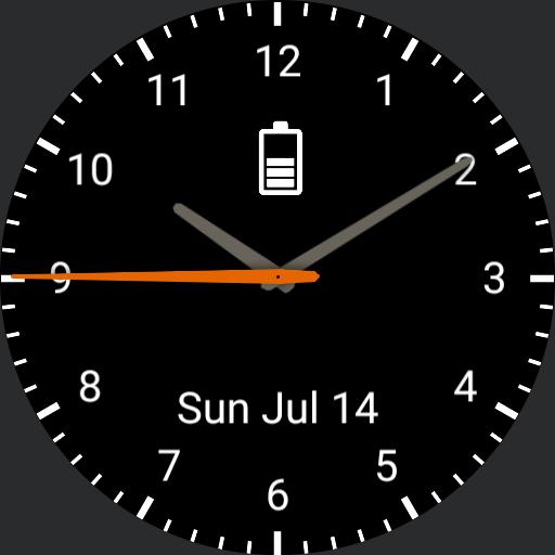 Personalised watch face