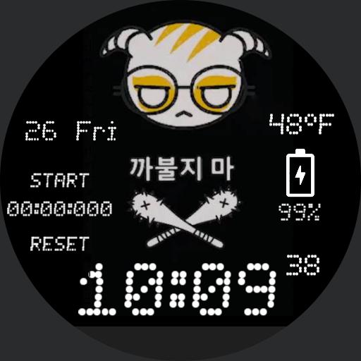 Dokkaebi Hacked Watch Face
