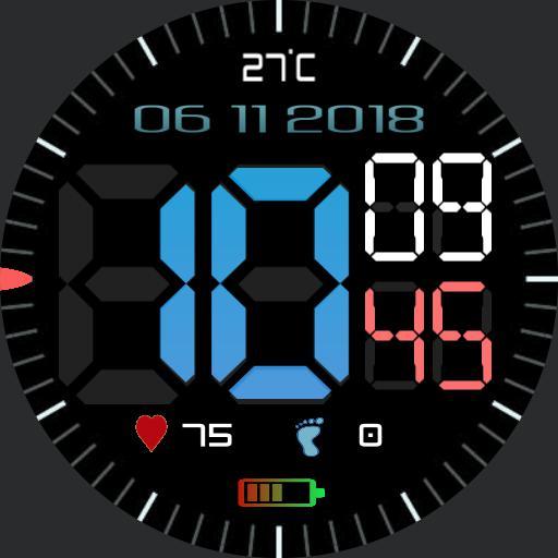 Gear Sport Big  Digital 4