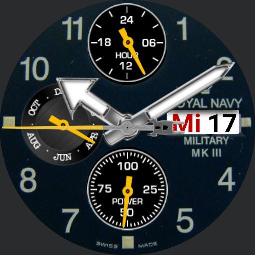 Navy Chrono