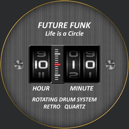 Future Funk Drum / Model #FF102-BKYL_LBK