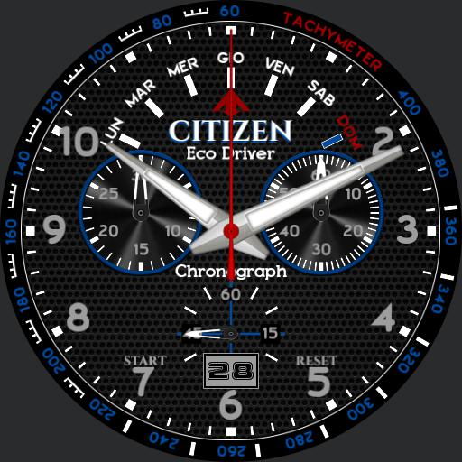 Citizen Punto81 Blue 2.0