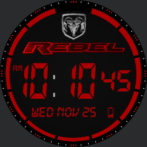 Dodge Ram Rebel Watch  Copy