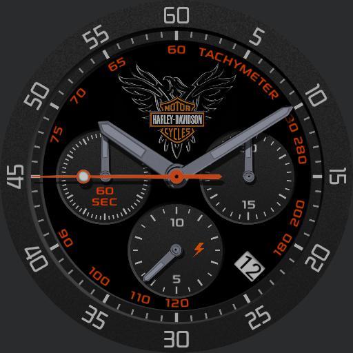 Harley Davidson Porsche design inspired
