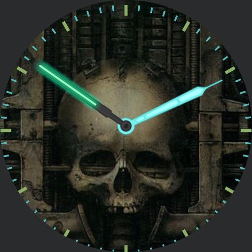 Geiger skull
