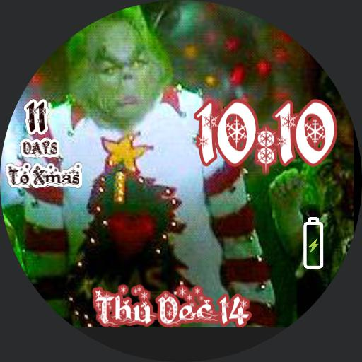 animated grinch countdown to Christmas