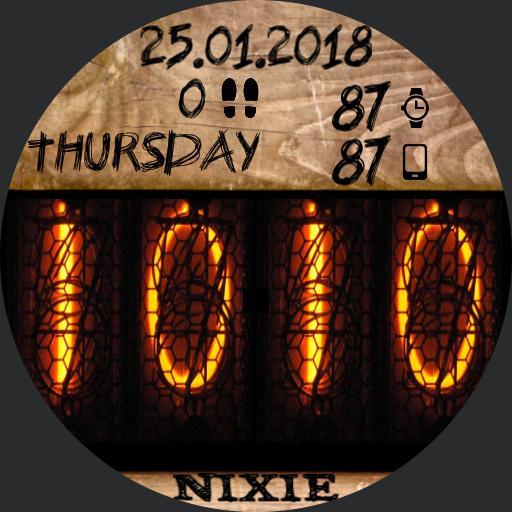 Nixie Round low power