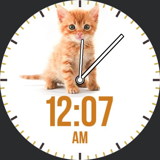 Kitten Watchface