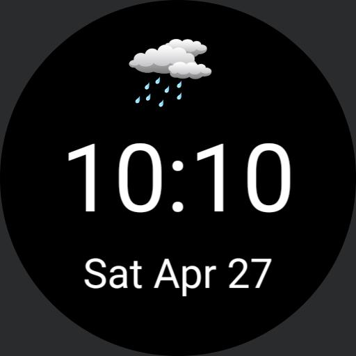 weather,date,time simple