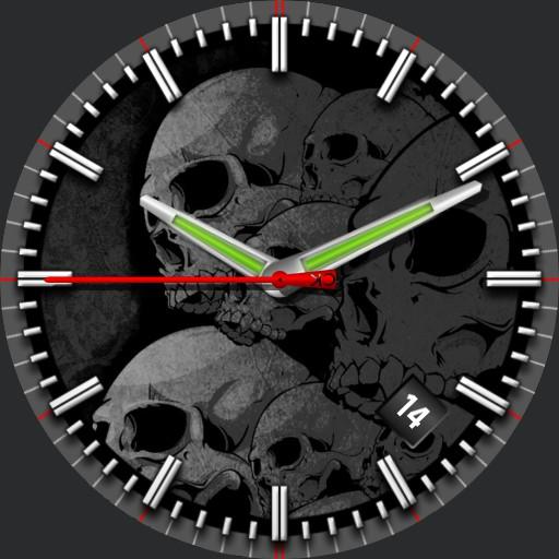 Skulls grey