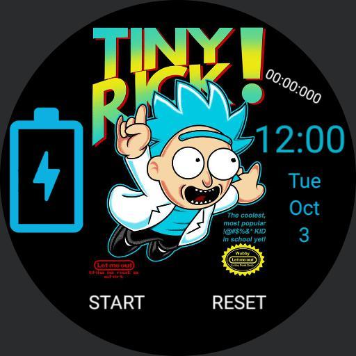 Tiny Rick Sm3 theme
