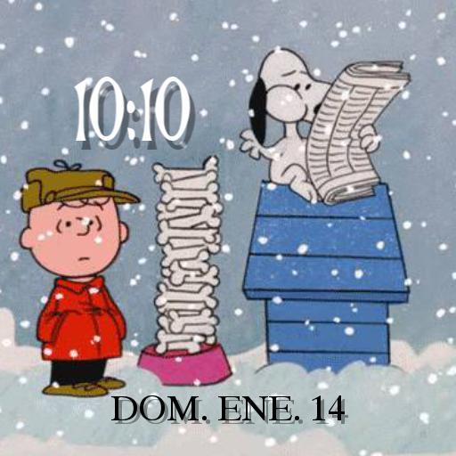 Snoopy and Charlie Brown Christmas animated