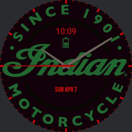Indian Motorcycle Watch 2