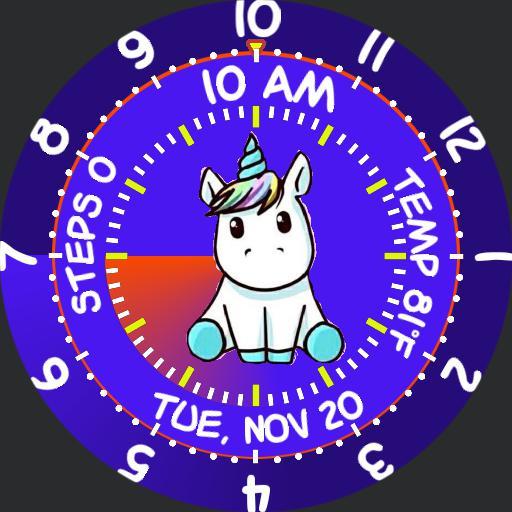 Cute Unicorn Gyro