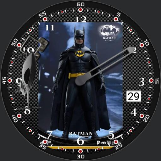Batman with Batskiboat