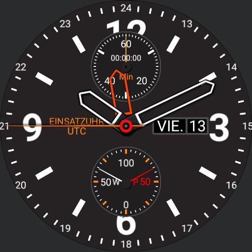 Einsatzuhr 5 UTC halbe Stunde