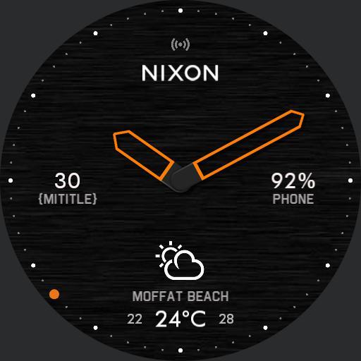 NIXON - Dark Mission