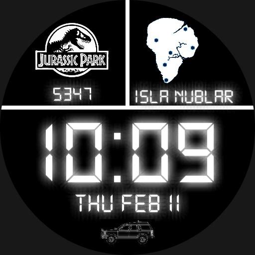 Jurassic Park Digital Watch