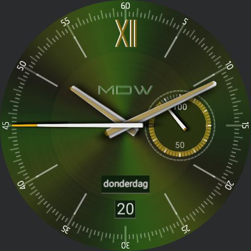 MD Watch Retro Emerald Copy