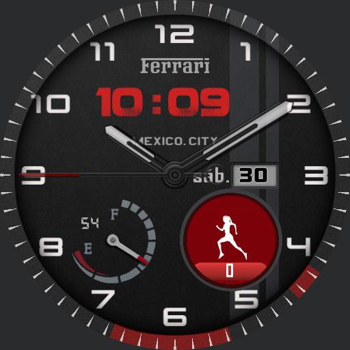 Watchface Ferrari