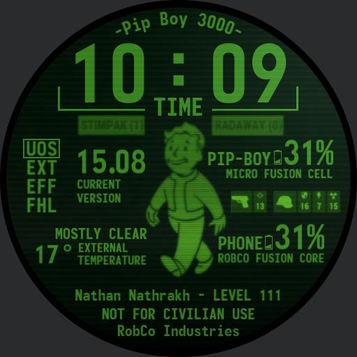 Pip-Boy 3000 - Nathan Edition