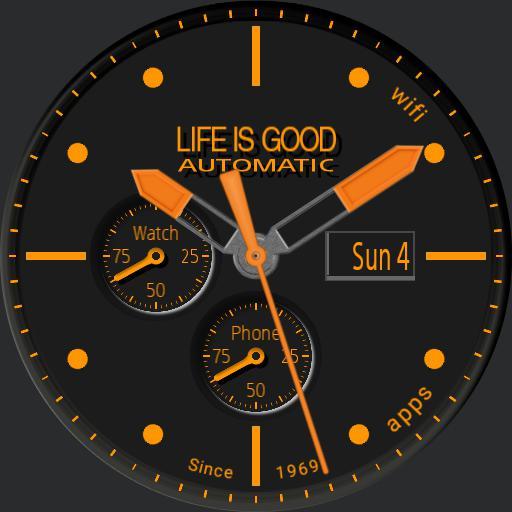 Life Is Good Chrono Change Color