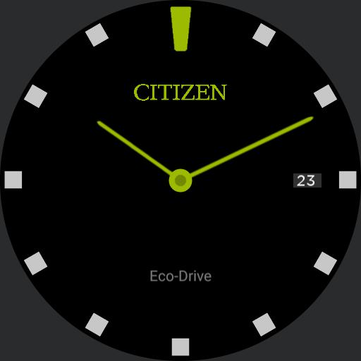 Citizen Eco-Drive Simply Green
