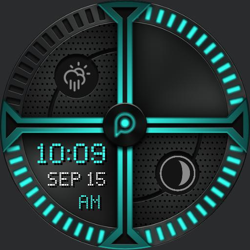 PREMIUM_CRO.SSED TECH Watch Face