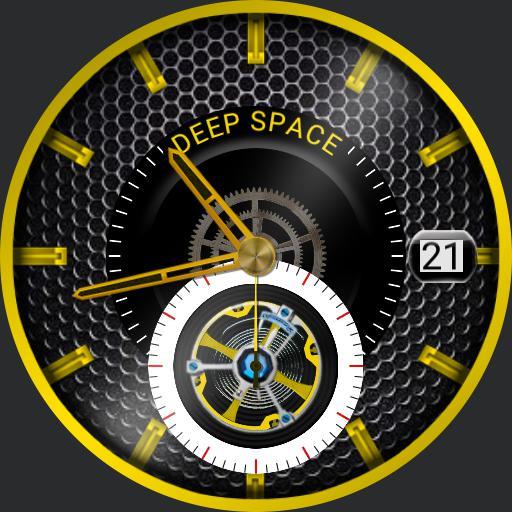 Deep Space Skeleton Tourbillon Gold