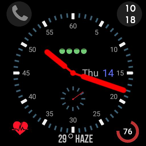 Apple Watch 3 type face
