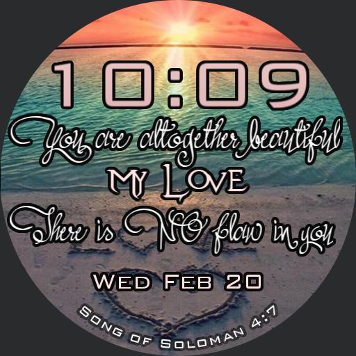 Song of Solomon sunset
