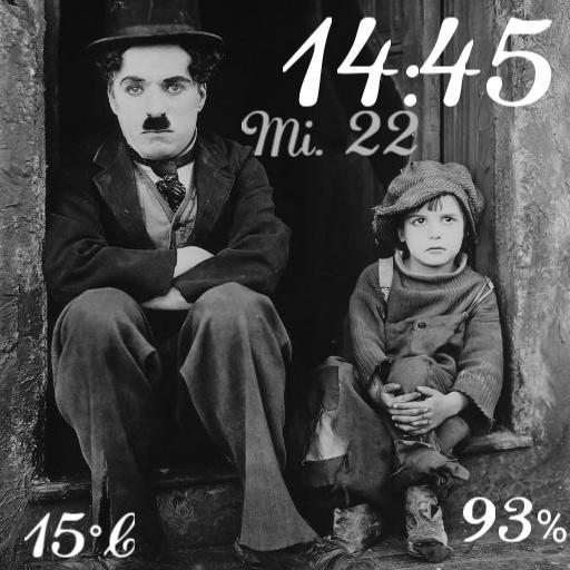 Chaplin Clock