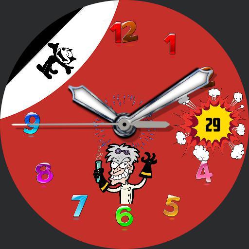 Cartoon watch Felix