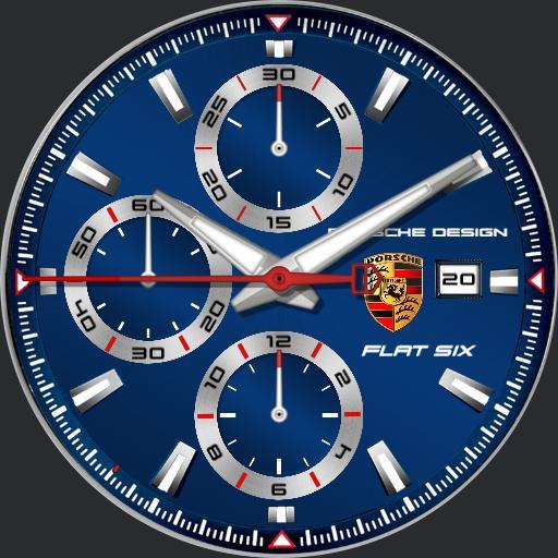 Porsche Design Flat 6 Blue