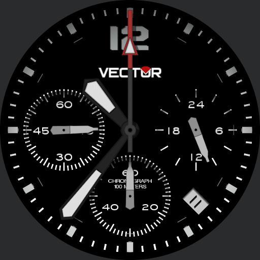 ED-Design Vector Analog Watch Copy
