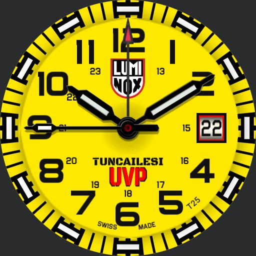 Luminox Tunc Yellow