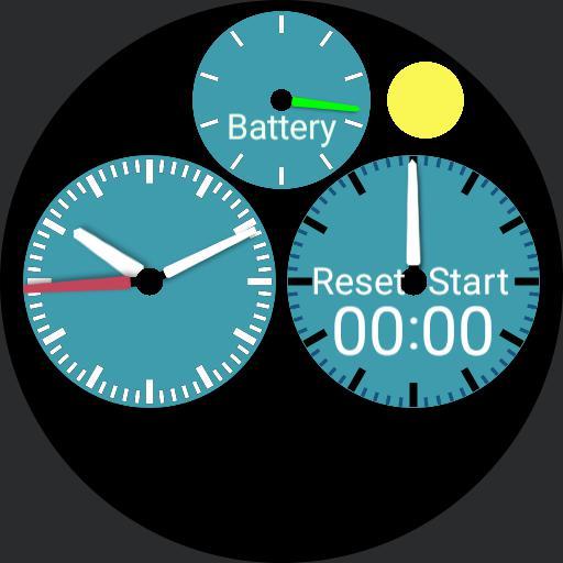 Analog Stopwatch PB