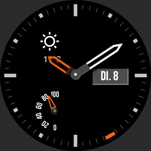 Grau  Orange Jurgen II