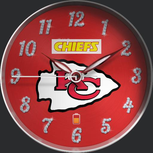 Watchmaker 100k Bling KC Chiefs Edition.
