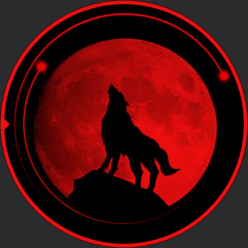 Blood-moon Wolf