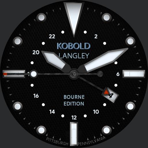 Kobold Langley GMT - Tactical Bourne Edition V2