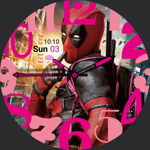Deadpool - Pretty in Pink