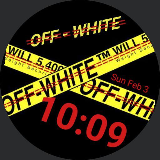 OFF- WHITE