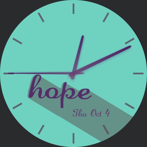 hope _ teal