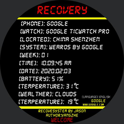 Recovery3.0 electronic