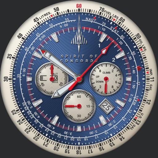 Spirit of Concorde 50th Anniversary Chronograph