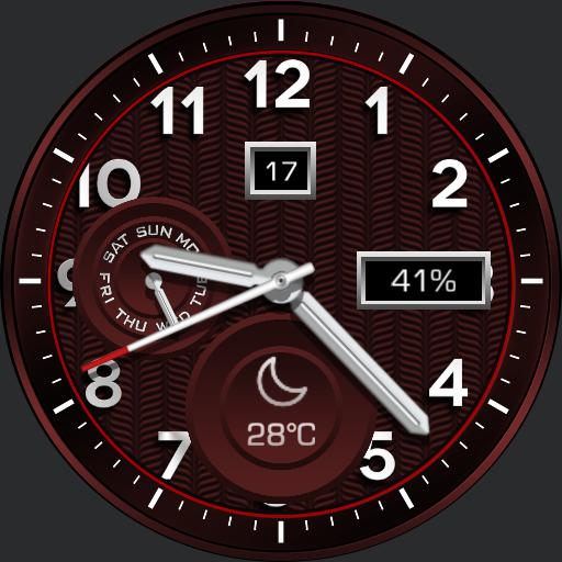 SCARLET Watch Face