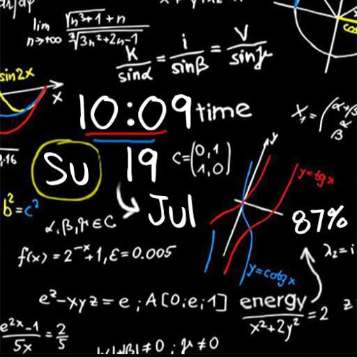 Math chalk for Xiaomi Mi watch