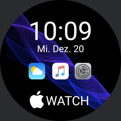iOS Style Watchface