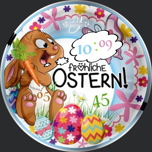 Ostern Hase Sprechblase